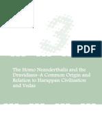 The Homo Neanderthalis and the Dravidians.pdf
