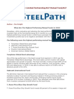 Steel Path - Master Limited Partnership,MLP Mutual Fund,MLP
