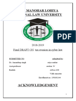 cyberlaw project