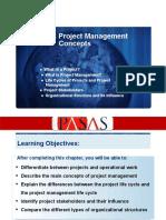 Chapter 1- Project Management Concepts