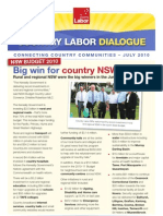 Country Labor Dialogue - July 2010