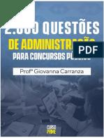 2000 questões Administração para concurso - Giovana Carranza - 2.pdf