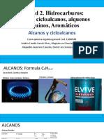 Unidad II. Alcanos (2020-I).pptx