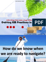 Evolving KM Practices in Middle East - IQPC KM Conference Talk (1st Feb 2011)