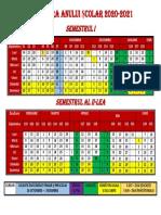 Calendar școlar 2020-2021