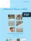 Pakistan's Waters at Risk Water and Health Related Issues in Pakistan & Key Recommendations