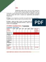 Ficha de registos alunos 3ª 8ºano, 3sem