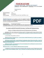 FICHE de LECTURE Droit Administratif Mar