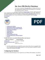 JavaDerby_database_setup