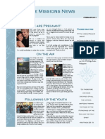 February 2011 Extreme Missions News