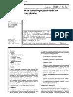 NBR 11742 - Porta Corta-fogo Para Saída de Emergência-1