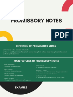 CHAPTER 7 - PROMISSORY NOTES