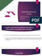 COMPARECENCIA EN JUICIO.pptx