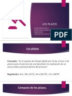 LOS PLAZOS.pptx