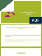 COMPARECENCIA EN JUICIO