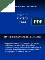 A201 BWBB3193 Topic 07 Fintech and IR4.0