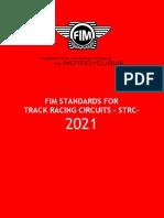 FIM Standards Track Racing Circuits - 2021