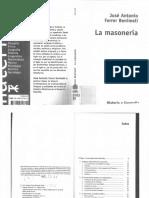 - La masonería (2001, Alianza) José Antonio Ferrer Benimeli.pdf