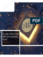 PwC H1 2020 Global Crypto M&A Fundraising Report Oct 2020 PDF
