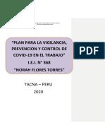 Plan de Vigilancia, Prevención y Control Del Covid 19 de La Iei 368