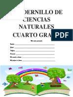 CUADERNILLO DE CIENCIAS NATURALES  cuarto defiinitivo