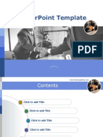 PowerPoint Template 24