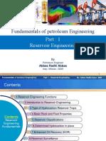 part 1 Fundamentals of  reservior engineering-Abbas 2020