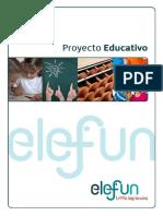 Proyecto Educativo Elefun Curso 2019-2020