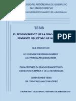 RECONOCIMIENTO DE CRAC-PC AGENDA PENDIENTE DEL ESTADO DE GUERRERO