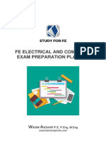 FE ELECTRICAL AND COMPUTER EXAM PREPARATION PLANNER - V-4.0