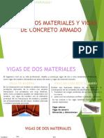 VIGAS DE DOS MATERIALES Y VIGAS DE CONCRETO ARMADO - Teoria.pptx