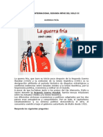 CONTEXTO INTERNACIONAL SEGUNDA MITAD DEL SIGLO XX
