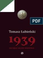 1939 Zaczelo sie we wrzesniu - Tomasz Lubienski