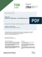 német influencer marketing
