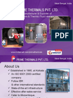 Prime Thermals Private Limited West Bengal India
