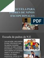 ESCUELA PARA PADRES DE NIÑOS EXCEPCIONALES