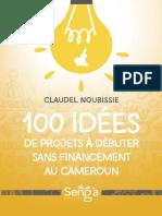 100 idées de Projets à débuter sans Financement