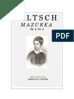 Mazurka Filtsch.pdf
