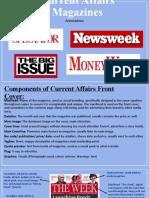 current affairs magazine examples