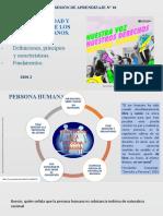 SESION 1 DIGNIDAD FUNDAMENTOS DERECHOS