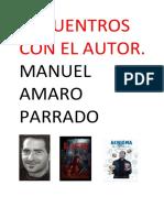 Encuentros con el autor. Manuel Amaro Parrado