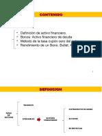 RENDIMIENTO DE LOS BONOS 7