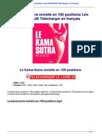 Le Kama Sutra Revisite En 100 Positions Lire Pdf Epub Telecharger En Francais Vfa164gc.pdf