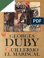 """""""Guillermo El Mariscal"""" de George Duby"""