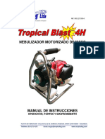 Manual Tropical Blast 4H Oct   2016