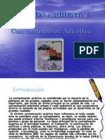 06 Contaminacion Acustica o Sonora