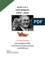 Homenaje Luis Rosales