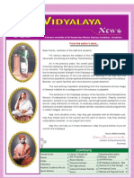 Ramakrishna Mission Vidyalaya Newsletter - January to June - 2007