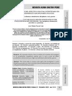 Los Derechos Del Efectivo Policial Investigado en El Procedimiento Disciplinario Policial - Autor José María Pacori Cari