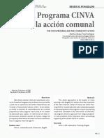 El programa CINVA y la Acción Comunal - Martha Liliana Peña, Bitacora 12